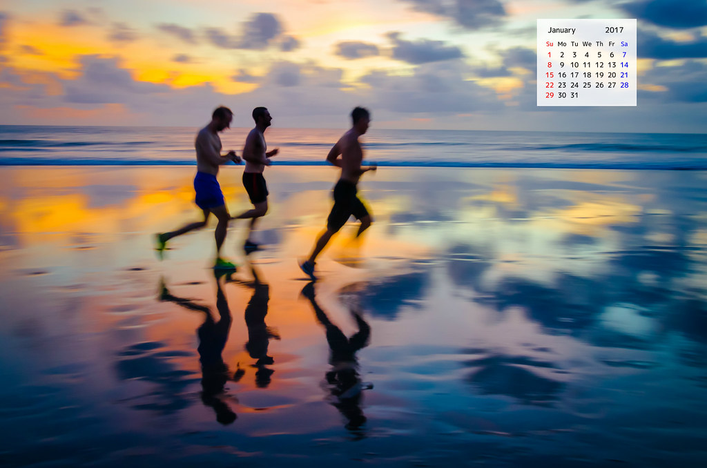 Download January 2017 Desktop Wallpaper Calendar